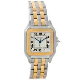 Cartier Panthere W25028B6 Stainless Steel & 18K Yellow Gold 26mm Unisex Watch