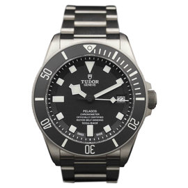 Tudor Pelagos 25600TN Titanium & Black Dial 42mm Mens Watch