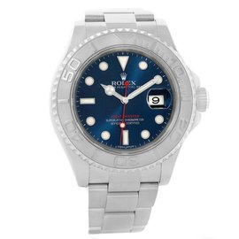 Rolex Yachtmaster 116622 Stainless Steel and Platinum 40mm Mens Watch