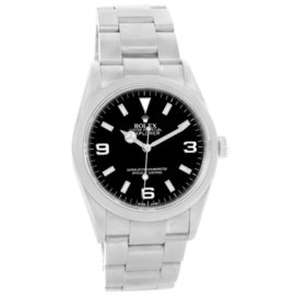Rolex Explorer I 114270 Stainless Steel Black Dial Automatic 36mm Mens Watch