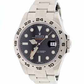 Rolex Explorer II 216570 Stainless Steel & Black Dial Automatic 42mm Mens Watch