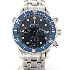 Omega Seamaster 2599.80 Stainless Steel & Blue Dial Automatic 42mm Mens Watch