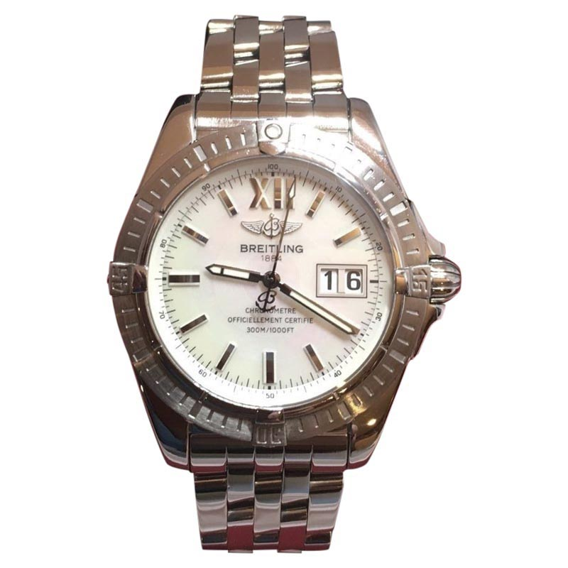 """Image of """"Breitling Galactic Cockpit A49350 Stainless Steel 40mm Unisex Watch"""""""