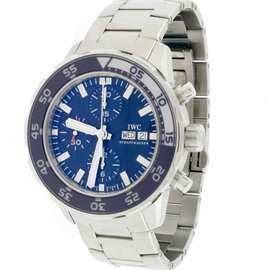 IWC Aquatimer IW376711 Stainless Steel & Blue Dial Automatic 44mm Mens Watch
