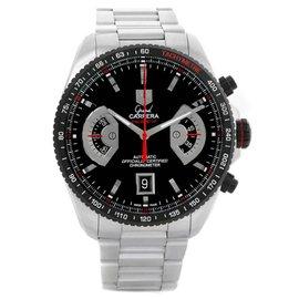 Tag Heuer Grand Carrera CAV511C Black Dial Automatic 43mm Mens Watch