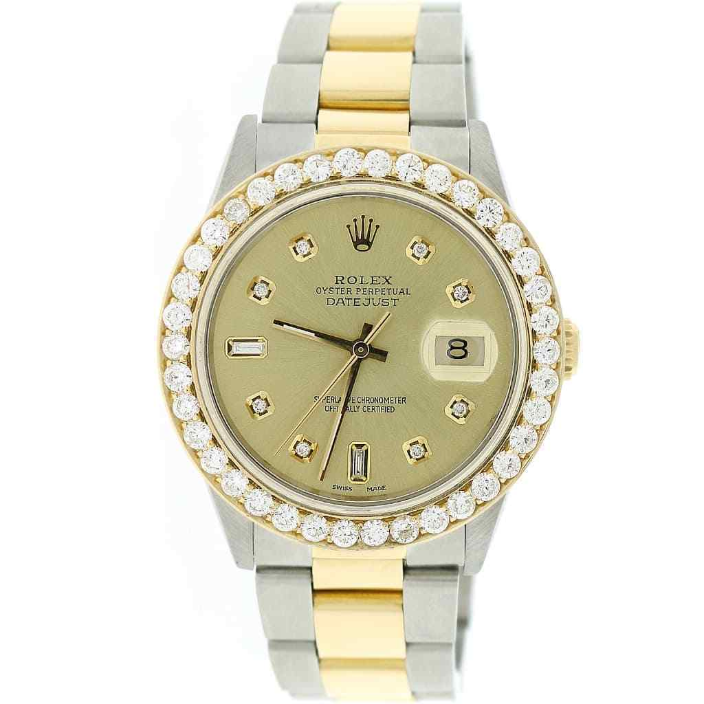 """Image of """"Rolex Datejust 11600 18K Yellow Gold/Stainless Steel Champagne Dial"""""""