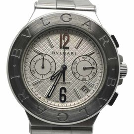 Bulgari Diagono Stainless Steel Automatic 40mm Unisex Watch