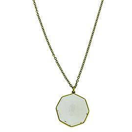 Ippolita Rock Candy 18K Yellow Gold with Quartz Pendant Necklace
