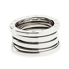 Bulgari B.zero1 18K White Gold Band Ring Size 6.25