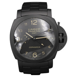 Panerai Ceramica Pam 438 Tuttonero 44mm Mens Watch