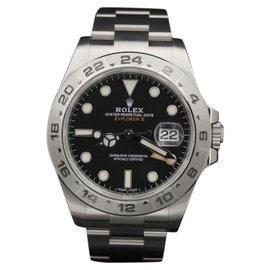 Rolex Explorer II 216570 Stainless Steel Black Dial 42mm Mens Watch 2017