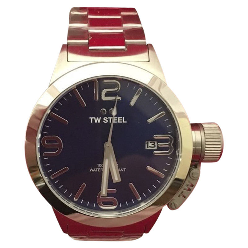 "Image of ""TW Steel Cb11 Stainless Steel 45mm Mens Watch"""