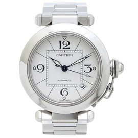 Cartier Pasha C W31074M7 Stainless Steel Automatic 35mm Men's Watch