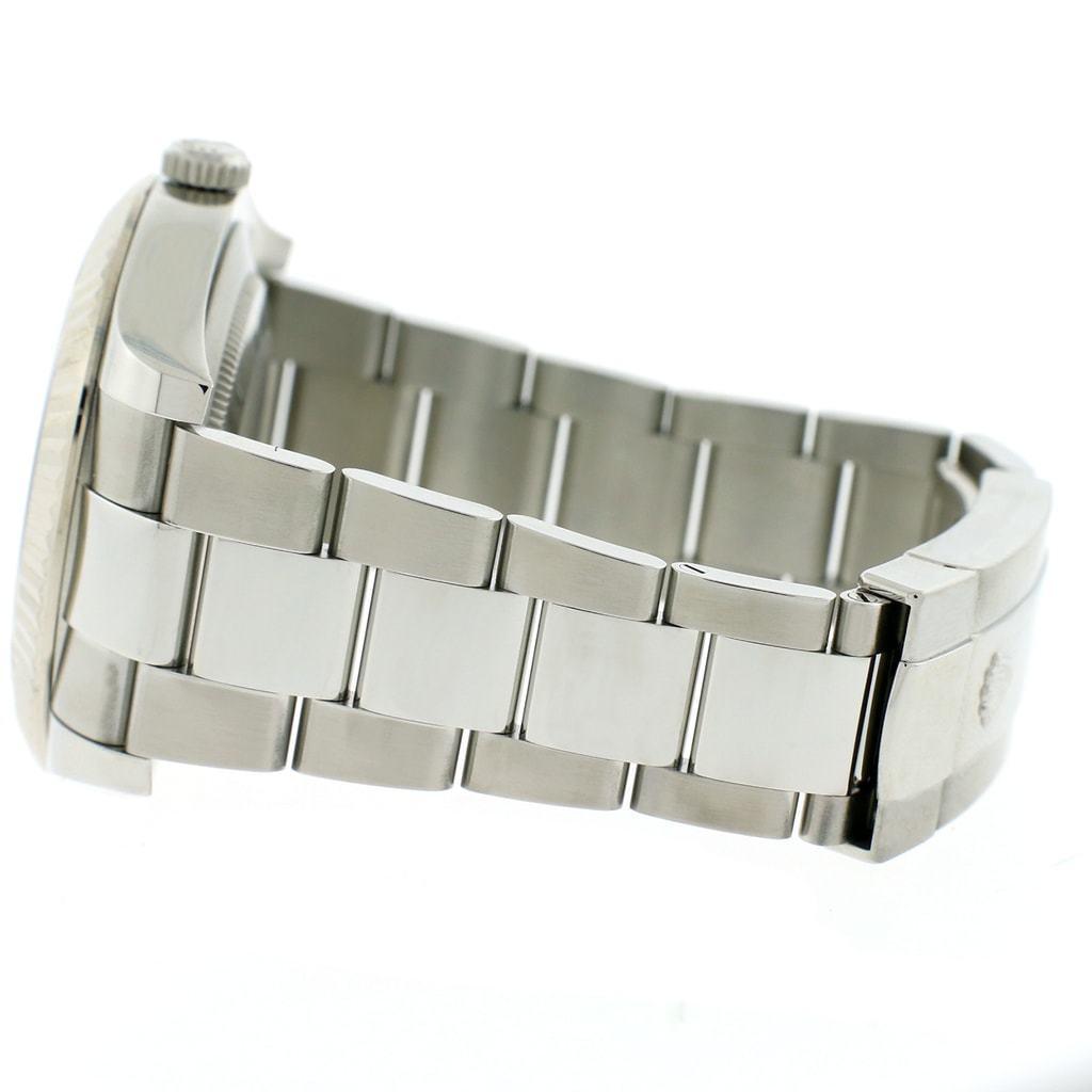 "Image of ""Rolex Datejust Ii Steel Diamond Mens Watch"""