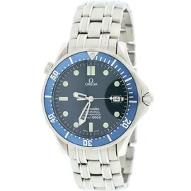 Omega Seamaster 12.30.41.20.03.001 Stainless Steel with Blue Dial 41mm Mens Watch