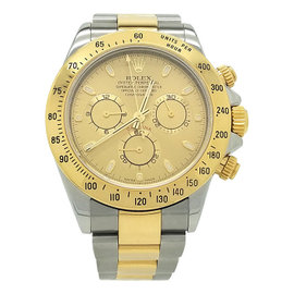 Rolex Daytona 116523 Stainless Steel & 18K Yellow Gold Automatic 40mm Mens Watch