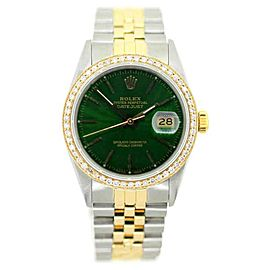 Rolex Datejust Diamond Mens Watch