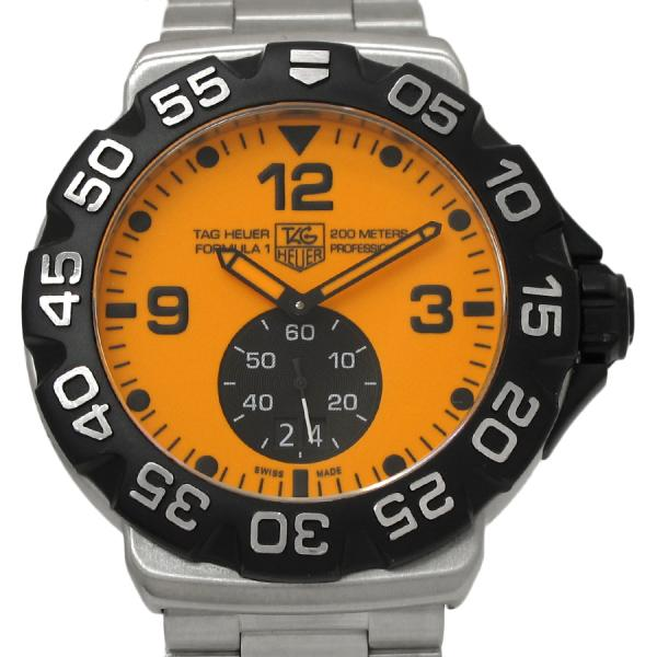 "Image of ""Tag Heuer Formula 1 Wah1012 Stainless Steel Quartz 44mm Mens Watch"""