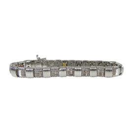 Roberto Coin 18K White Gold & 0.18ct Diamond Appassionata Bracelet