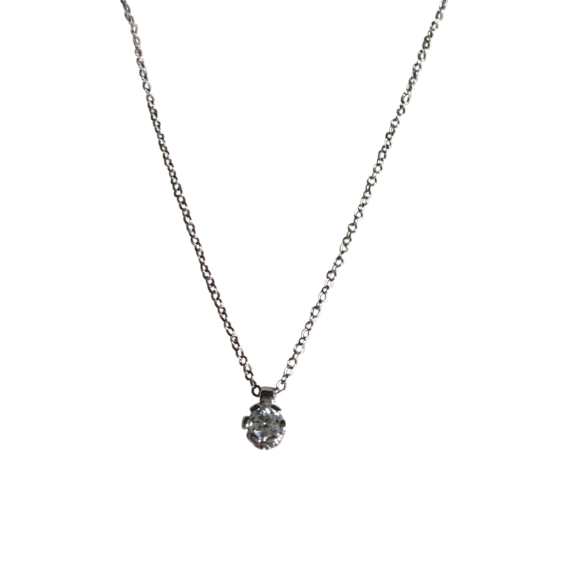 "Image of ""Bliss by Damiani 'Arabesque' Necklace 18K White Gold Diamonds"""