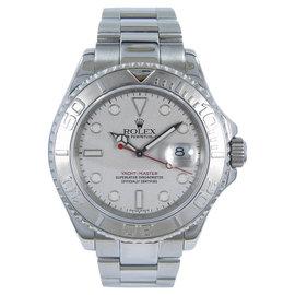 Rolex Yachtmaster 16622 Platinum/Steel 40mm Mens Watch