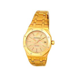 Audemars Piguet Royal Oak 14790BA.OO.0789BA.07 18K Yellow Gold 36mm Unisex Watch