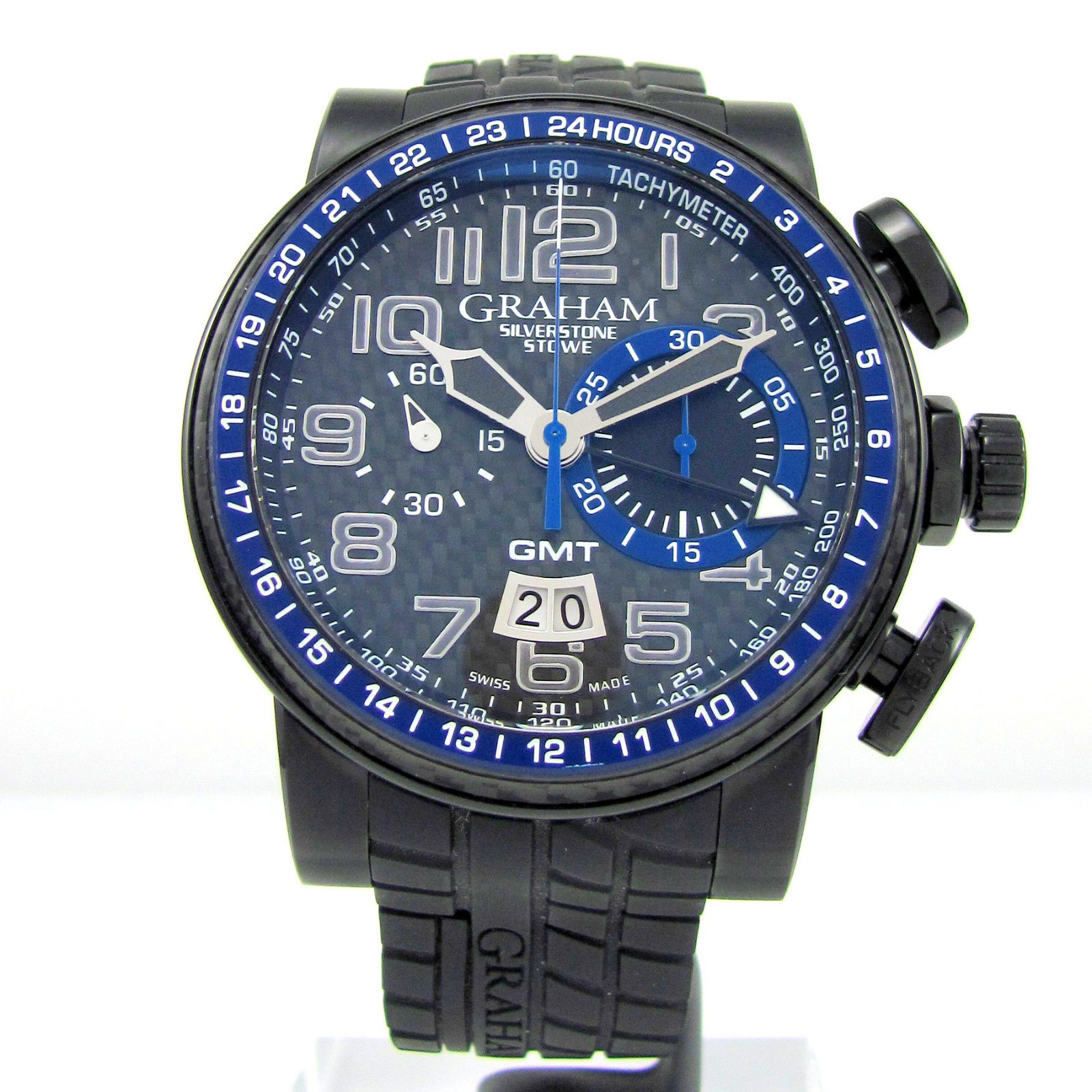 "Image of ""Graham Silverstone Stowe 2Blcb.b30A Black PVD Stainless Steel"""