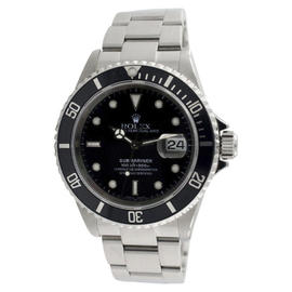 Rolex Submariner 16610 Black Dial Stainless Steel Swiss Automatic Watch