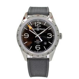 Bell & Ross BRV 123-BL-GMT/SRB Stainless Steel 42mm Unisex Watch