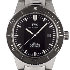 IWC GST Aquatimer IW353602 Stainless Steel Swiss Automatic 42mm Mens Watch