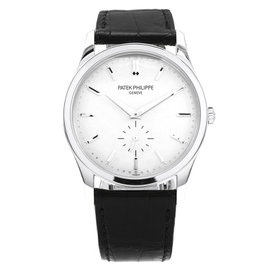 Patek Philippe Calatrava 5196G-001 18K White Gold 37mm Mens Watch