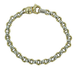 Chimento 18K White Yellow Gold Link Bracelet