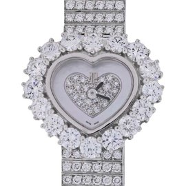 Audemars Piguet Diamond Heart 67369BC 18K White Gold 22.5mm Womens Watch