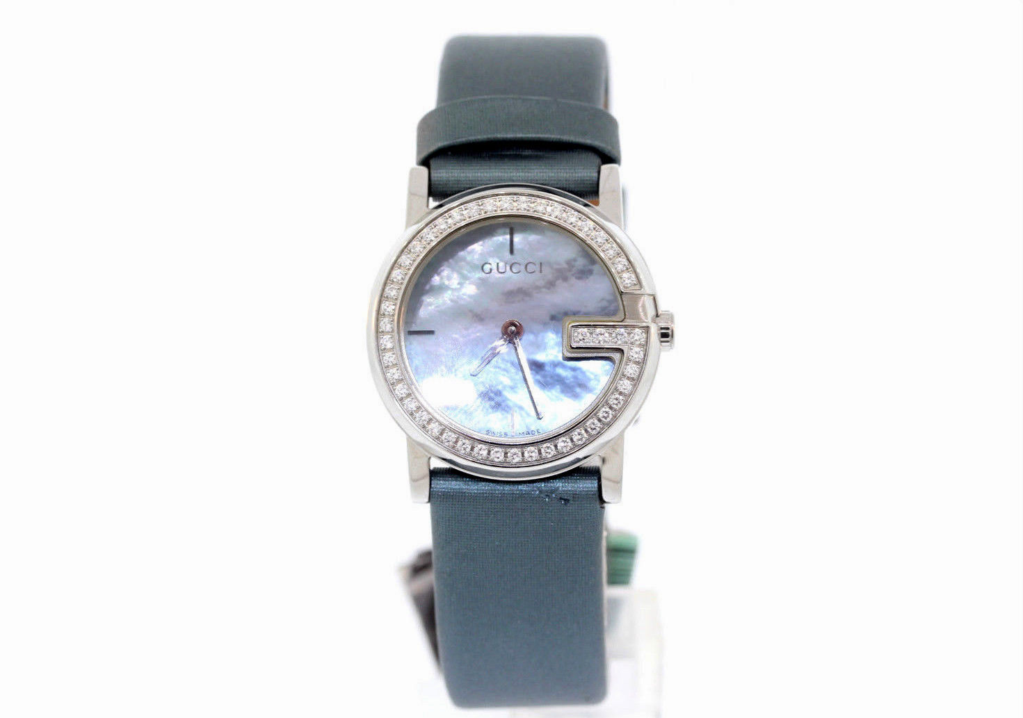 """Image of """"Gucci Ya101508 Stainless Steel Quartz 28mm Womens Watch"""""""