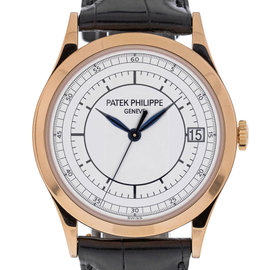 Patek Philippe Calatrava 5296R 18K Rose Gold 38mm Mens Watch