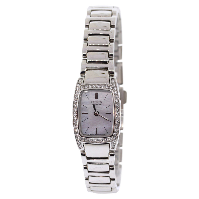 """Image of """"Citizen Eco-Drive Ew9620-53D Stainless Steel with Mother of Pearl Dial"""""""