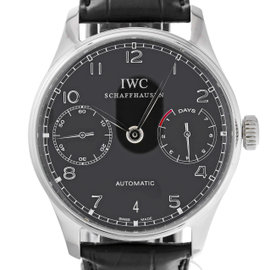 IWC Portuguese Automatic IW500109 Stainless Steel / Leather 42mm Mens Watch