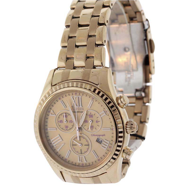 """Image of """"Citizen Eco-Drive Fb1363-56Q Rose Gold-Tone Stainless Steel 40mm"""""""