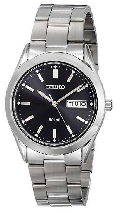 """Image of """"Seiko Sne039 Stainless Steel Quartz 37mm Mens Watch"""""""