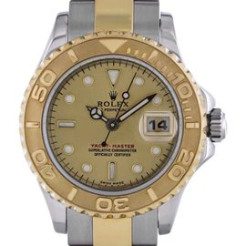 Rolex Yachtmaster 169623 Stainless Steel and 18K Yellow Gold 29mm Womens Watch