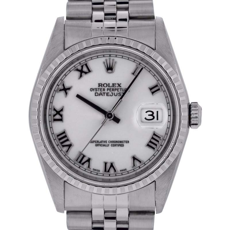 """Image of """"Rolex Datejust 16220 Stainless Steel 36mm Unisex Watch"""""""