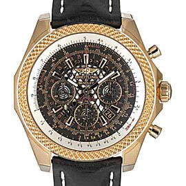 Breitling Bentley RB061112/BC43 18K Rose Gold Automatic 49mm Mens Watch