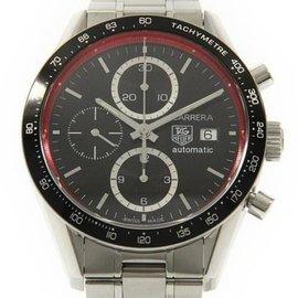 Tag Heuer CV201Y.BA0794 Carrera Stainless Steel 41.5 mm Men's Watch