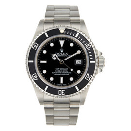 Rolex Stainless Steel Sea Dweller Mens Watch