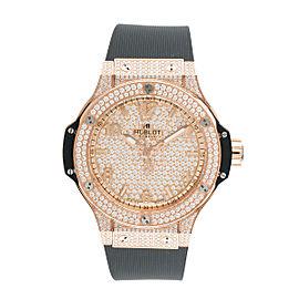 Hublot Big Bang 361.PX.9010.RX.1704 18K Rose Gold 36mm Womens Watch