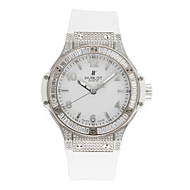 Hublot Big Bang 361.SE.2010.RW.0904 Stainless Steel White/Rubber 38 mm Womens Watch