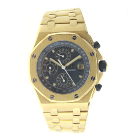 Audemars Piguet Royal Oak Offshore Yellow Gold - 25721BA.OO.1000BA.02.A Watch