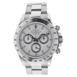Rolex Cosmograph Daytona Stainless Steel White Dial 116520 Watch