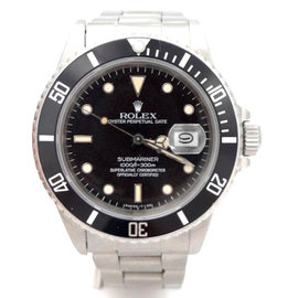 Rolex Submariner 16800 40mm Stainless Steel Watch