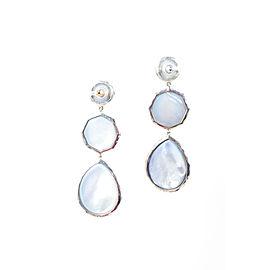Ippolita 925 Sterling Silver Blue Crazy 8 Rock Candy Drop Earrings